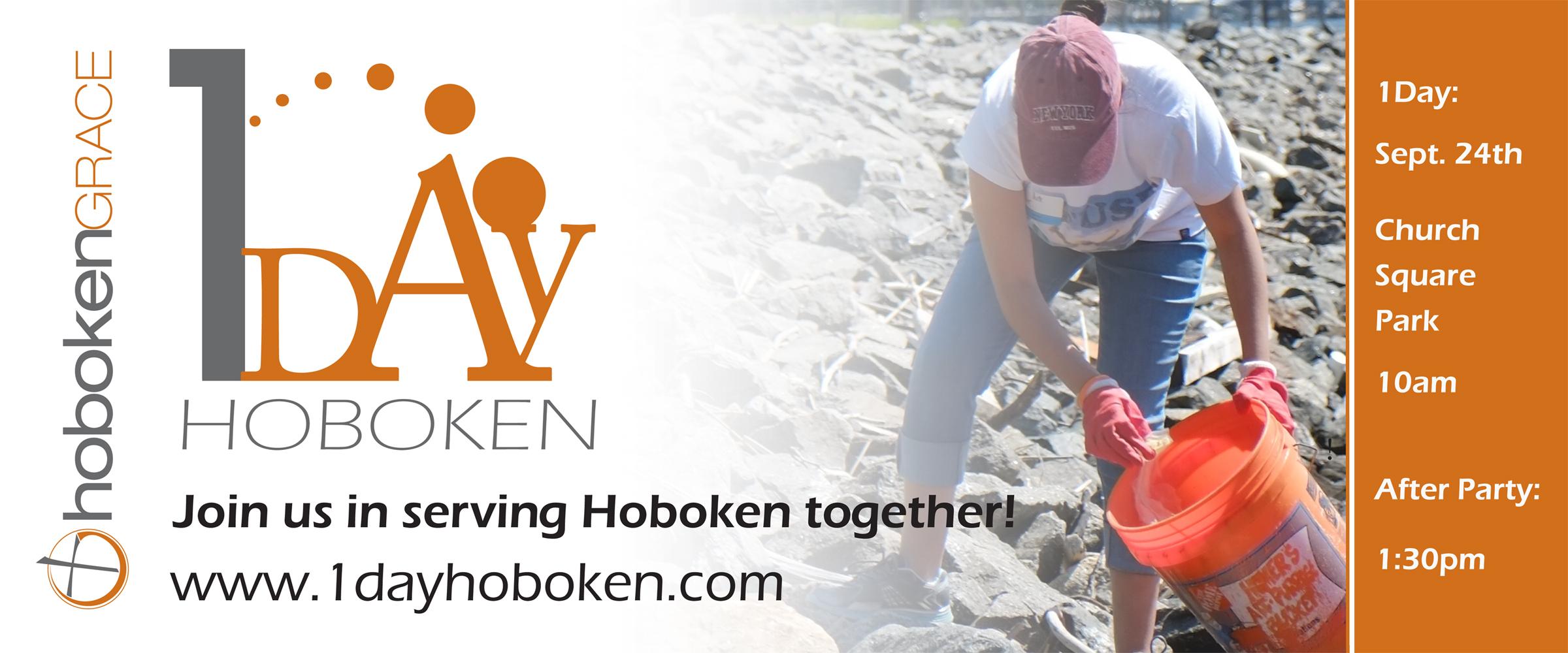 1 Day Hoboken Banner 2015